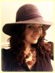 Jessa-chic, hat and all.