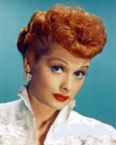 I Love Lucy.  And her hair.