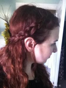 Fairy braid close up